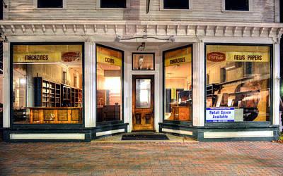 Lackey's Drug Store - Stowe Vermont Art Print
