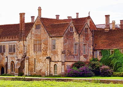 Photograph - Lacock Abbey - The East Front - 02 by Paul Gulliver