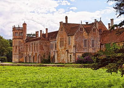 Photograph - Lacock Abbey - The East Front by Paul Gulliver