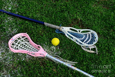 Womens Photograph - Lacrosse His And Hers by Paul Ward