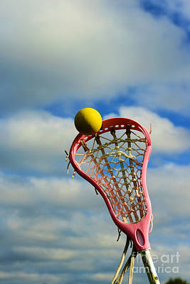 Girls In Pink Photograph - Lacrosse In The Pink by Paul Ward