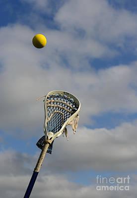 Womens Photograph - Lacrosse Reach Higher by Paul Ward