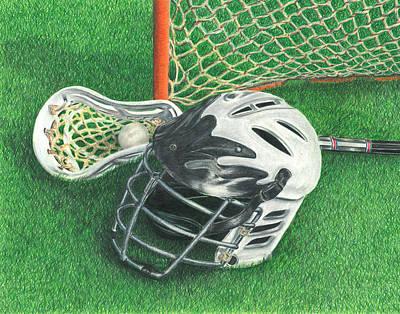 Lacrosse Art Print
