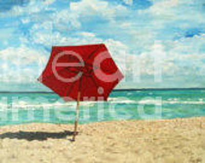 Painting - Lacy Afternoon South Beach by Reina Resto