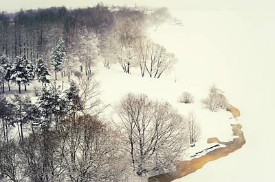 Photograph - Lacy Winter 3 by Jenny Rainbow