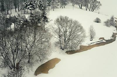 Photograph - Lacy Winter 5 by Jenny Rainbow