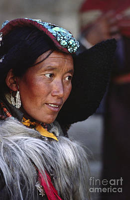 Photograph - Ladakhi Beauty - Ladakh India by Craig Lovell