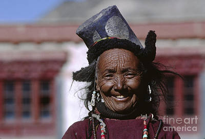 Photograph - Ladakhi Smile - Ladakh India by Craig Lovell