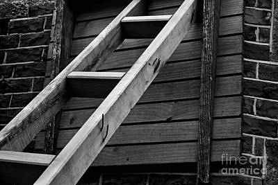 Photograph - Ladder by Nareeta Martin