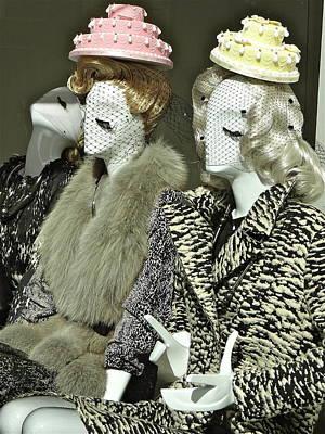 Ladies A La Mode Art Print