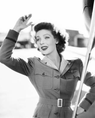 Ladies Courageous, Loretta Young, 1944 Art Print