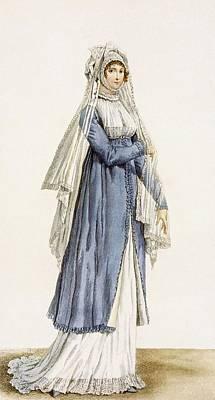 Ladies Day Dress, Plate Print by Antoine Charles Horace Vernet