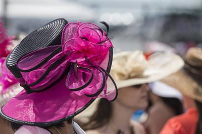 Ladies Hat At 2014 Kentucky Derby  Art Print