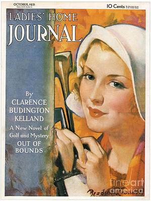 Ladies Home Journal 1930s Usa Golf Art Print by The Advertising Archives