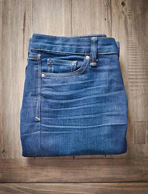 Ladies' Jeans Art Print