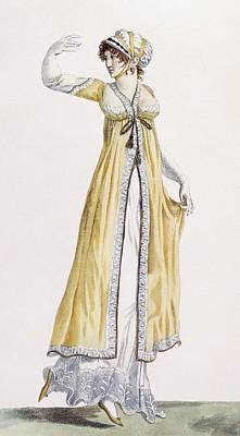 Ladies Russian Style Tunic Art Print by Pierre de La Mesangere
