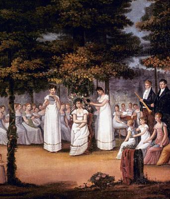 Seminary Painting - Ladies' Seminary, C1810 by Granger