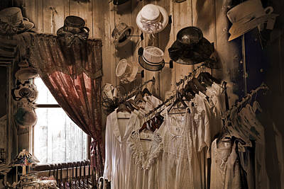 Barkerville Photograph - Ladies' Shoppe by Ed Hall