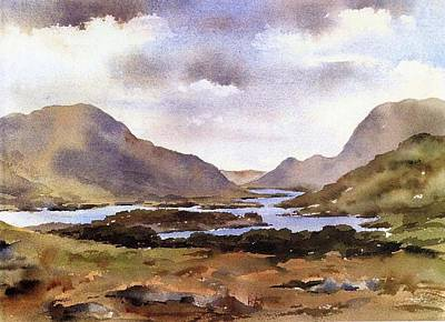 Painting - Ladies View  Killarney Kerry by Val Byrne