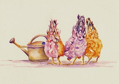 Pepper Painting - Ladies Who Lunch by Debra Hall