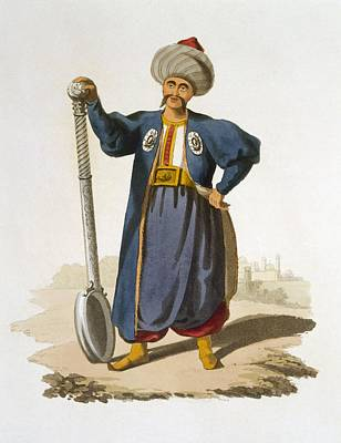 Ladle Bearer, 1818 Art Print by English School