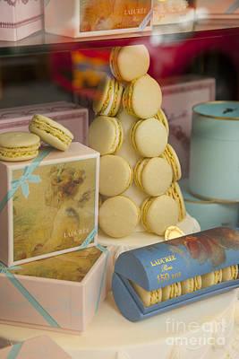 Upscale Photograph - Laduree Macarons by Brian Jannsen