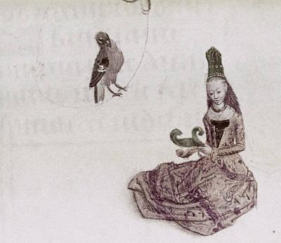 Lady, 15th Century Art Print by Granger