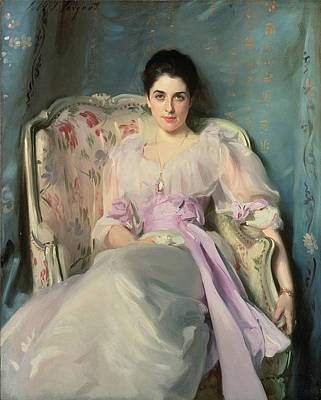 Lady Agnew Of Lochnaw, C.1892-93 Oil On Canvas Art Print by John Singer Sargent