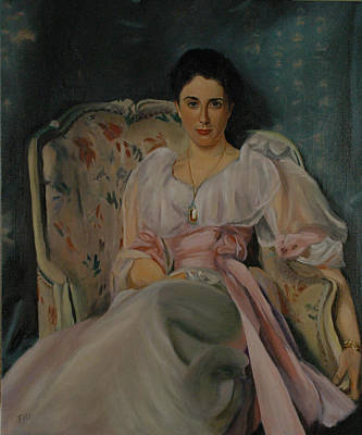 Painting - Lady Agnew by Rick Fitzsimons