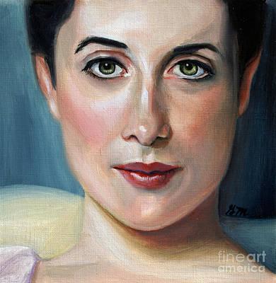 Painting - Lady Agnew study by Gretchen Matta