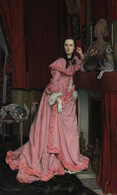 Mantel Painting - Lady At The Fireplace   by Mountain Dreams