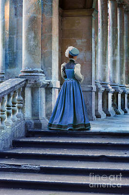 Photograph - Lady At The Top Of The Steps by Jill Battaglia