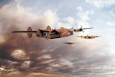 Transportation Digital Art - Lady Be Good by Airpower Art