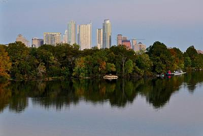 Photograph - Lady Bird Lake In Austin Texas by Kristina Deane