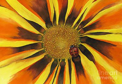 Lady Bug Art Print by Nan Wright