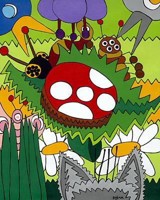 Lady Bug Art Print by Rojax Art