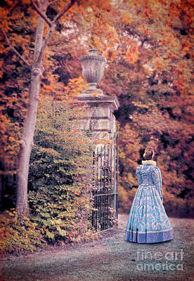 Photograph - Lady By The Gate by Jill Battaglia