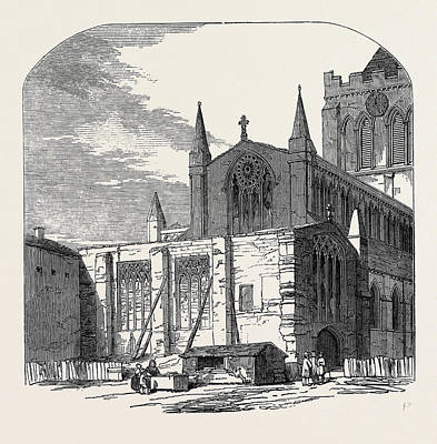 Restoration Drawing - Lady Chapel Of Hexham Church, Proposed For Restoration by English School