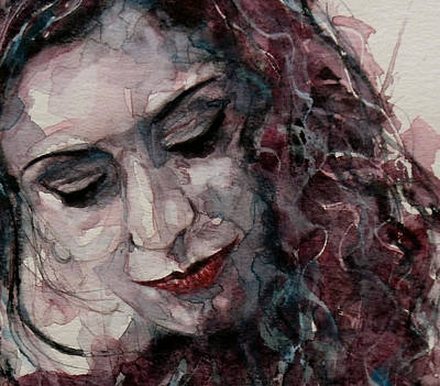 Eye Wall Art - Painting - Lady D'arbanville by Paul Lovering