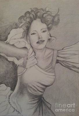 Lady Art Print by Debra Piro