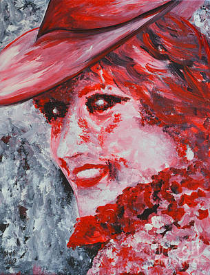 Lady Diana Painting - Lady Di by Alys Caviness-Gober