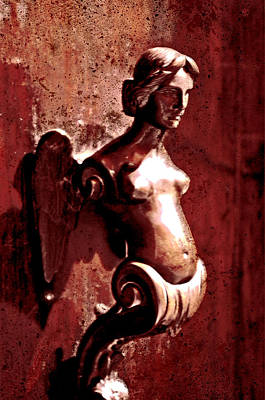 Photograph - Lady Door Knocker by Greg Sharpe