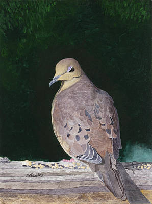 Painting - Lady Dove by Mike Robles