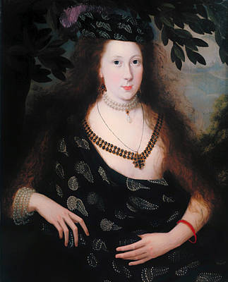 Lady Elizabeth Polk Art Print
