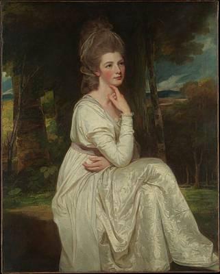 Romney Painting - Lady Elizabeth Stanley 1753-1797 by George Romney