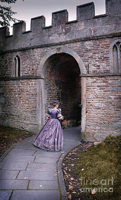 Photograph - Lady Entering Archway by Jill Battaglia