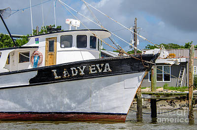 Dragons - Lady Eva Shrimp Boat by Dale Powell