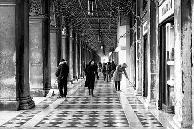 Photograph - Lady From San Marco by John Rizzuto