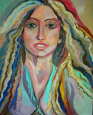 Lady Gaga Art Print by Julie Lee