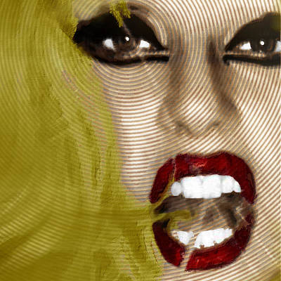 Lady Gaga Art Print by Tony Rubino